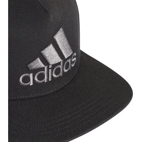 adidas H90 Logo Cap Men, black/black/grey four